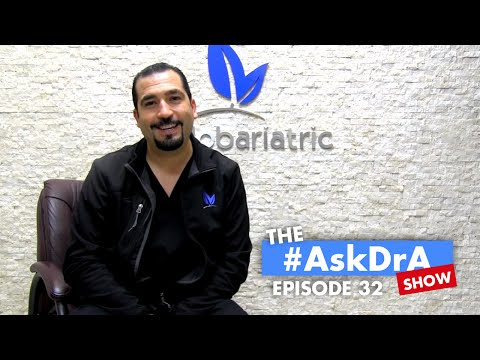 The #AskDrA Show | Episode 32 | Weight Stalls, Eating and Drinking, Counting Carbs | Gastric Sleeve