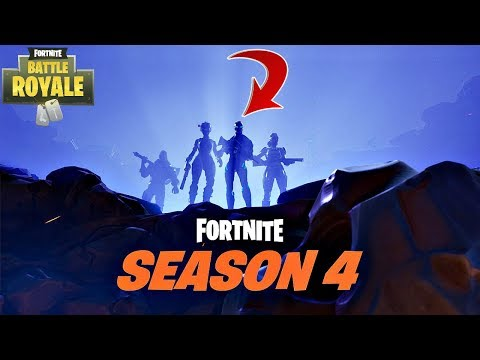 FORTNITE SEASON 4 COUNTDOWN + GAMEPLAY! (FORTNITE NEW SEASON)