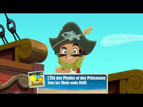 L'été des Pirates & des Princesses - Tous les week-ends dès 6h35 - Sur Disney Channel !