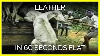 Leather in 60 Seconds Flat