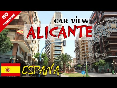 Alicante, Spain - City trip. Santa Barbara & historic center