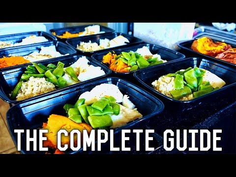 Beginners Guide To Meal Prep | Zone Diet Weight Loss Plan