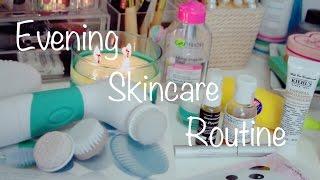 Вечерний УХОД За Кожей ♡ Evening Skincare Routine