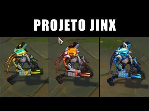 PROJETO: Jinx - Croma Skin