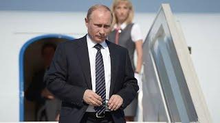 Прилет Владимира Путина в Женеву от 16.06.21. Прямая трансляция