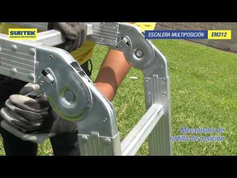 Escaleras de Aluminio Surtek URREA México