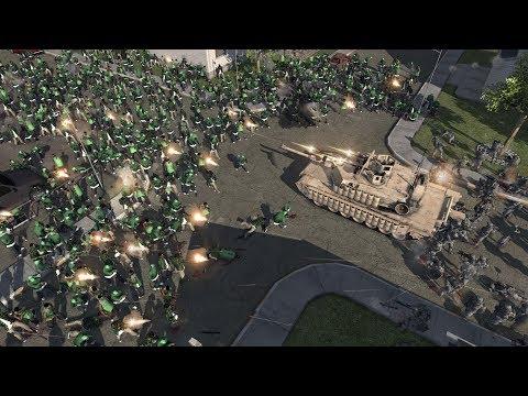GTA GROVE GANG Vs USA MILITARY - GTA San Andreas (MOW AS2 MOD)