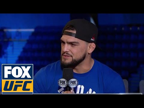 Gastelum on Weidman's nerves: 'I know he doesn't want to get beat up in his backyard' | UFC ON FOX