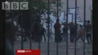 Anti immigration clashes in Greece