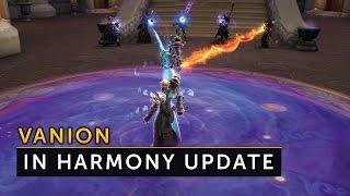 Vanion - in Harmony Update