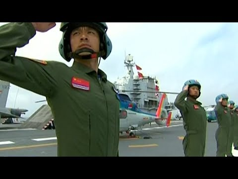 Chinese armed forces put on largest ever military display