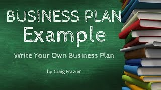 Business Plan Examples | Writing A Business Plan