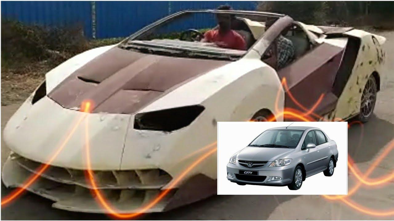 Honda City Modified To Lamborgini The Lamborgini Project India