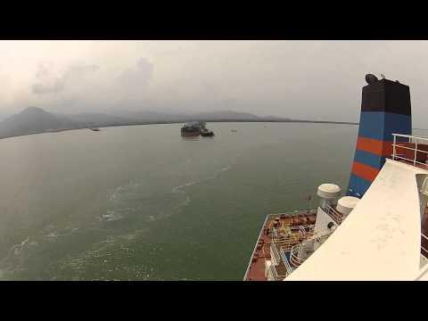 Maniobra de Atraque en Puerto Nuevo, Santa Marta