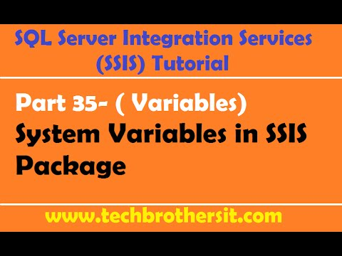 Welcome To TechBrothersIT: SSIS Tutorial Part 35- What are System