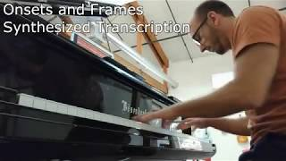Piano Transcription w/ Onsets and Frames