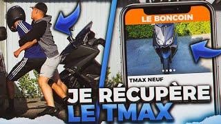 JE RÉCUPÈRE UN T-MAX VOLÉ SUR LEBONCOIN ⚠️ (GROSSE EMBROUILLE)