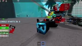 Roblox Boxing Simulator 2 (do dat yoga) et Heroes of Robloxia
