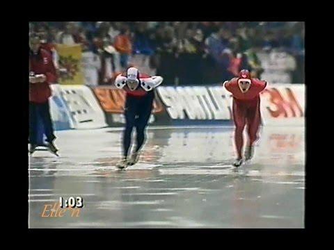 European Championships Heerenveen 1992 - 5 km Koss - Ritsma