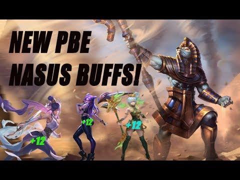 best leuk fabrieksuitgang geweldige aanbiedingen 2017 PLUS 12! NEW BUFFED PBE NASUS IS INSANE! League of Legends Preseason 9  Nasus Gameplay