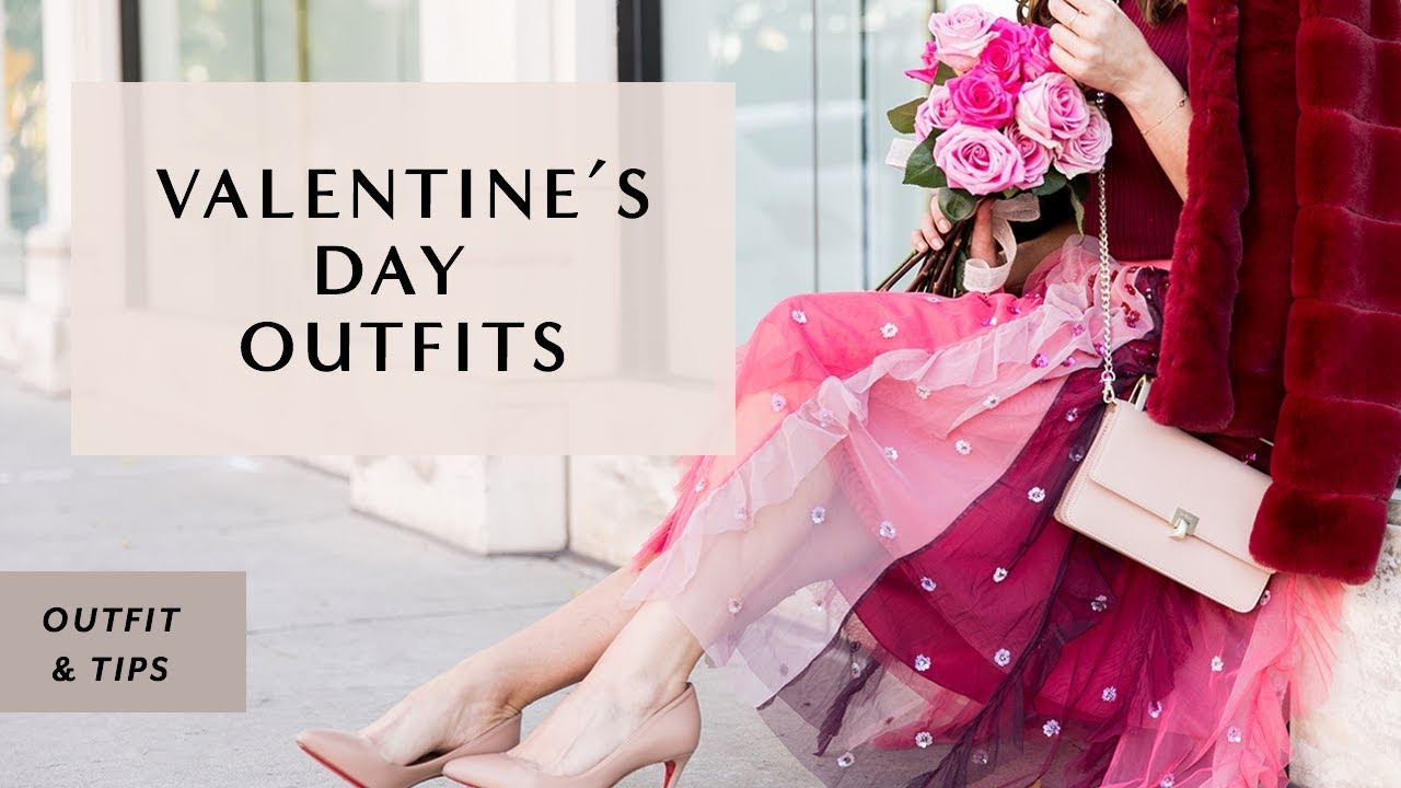 VALENTINE'S DAY OUTFIT IDEAS I Sydne Summer