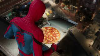Pizza Time - SPIDER-MAN PS4