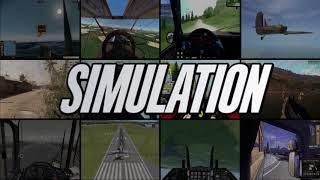 SIMULATION GENRE INTRO VIDEO - PC