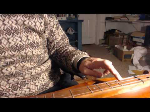 Troubled voices (big cherry five-string)