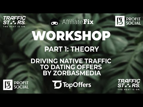 Native Ads For Dating Offers By ZorbasMedia. Part 1 Theory