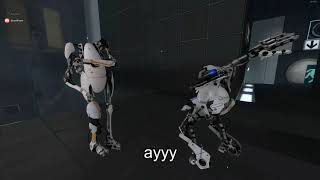 Portal 2 playthrough highlights with Yoloque   Part 1