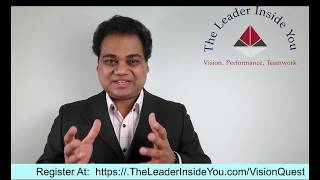 VisionQuest- OnlineWorkshop And One-on-one Coaching - By Ravi Rade, Search Inside Yourself Teacher
