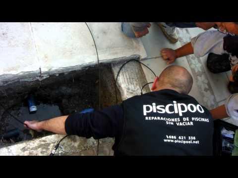 Rehabilitaci n tuber a piscina sin obra doovi - Deteccion de fugas de agua en piscinas ...