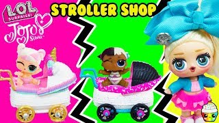 LOL Jojo Siwa Stroller Shop Custom DIY Strollers For LOL Little Sisters