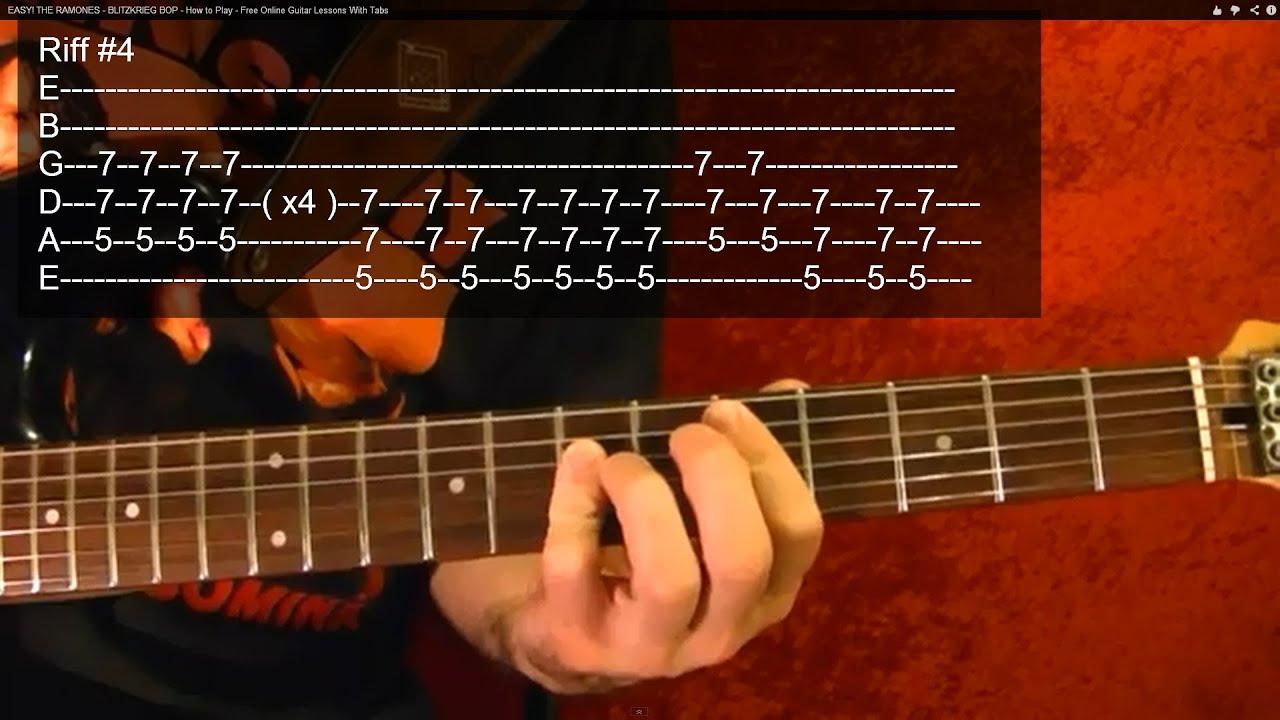 black sabbath sweet leaf guitar lesson very easy youtube