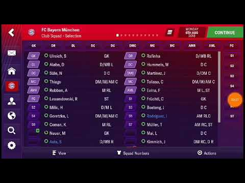 FOOTBALL MANAGER MOBILE 2019 REAL NAME - SAVE DATA - YouTube