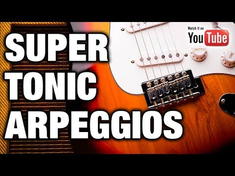 Gorgeous Arpeggio Melody Trick (The SUPERTONIC)