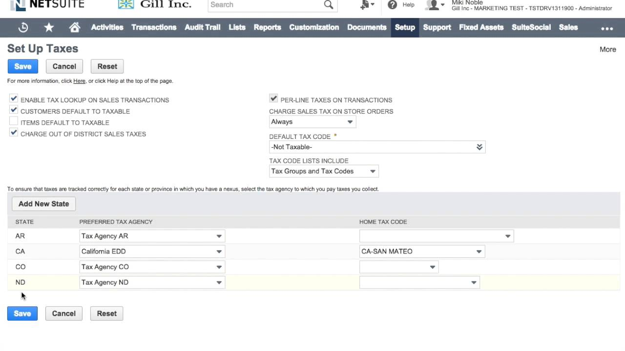 NetSuite: How to Import State Sales Tax Tables -- by TrueCloud