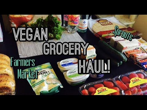 Vegan Grocery Haul! | Sprouts Farmers Market | September 2016