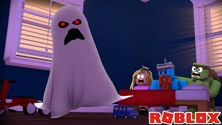 TRICK O TREATING CON LITTLE KELLY E TINY TURTLE !!! Roblox di Sharky