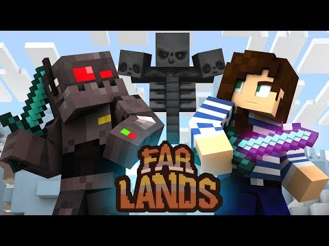 Ice Spike Wither Fight - Minecraft Far Lands (Ep.29)