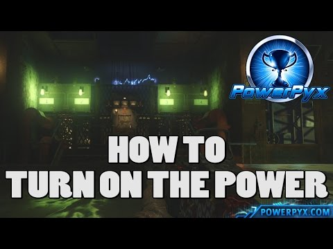 Call Of Duty: Black Ops 3 Eclipse DLC - How To Turn On The Power Permanently (Zetsubou No Shima)