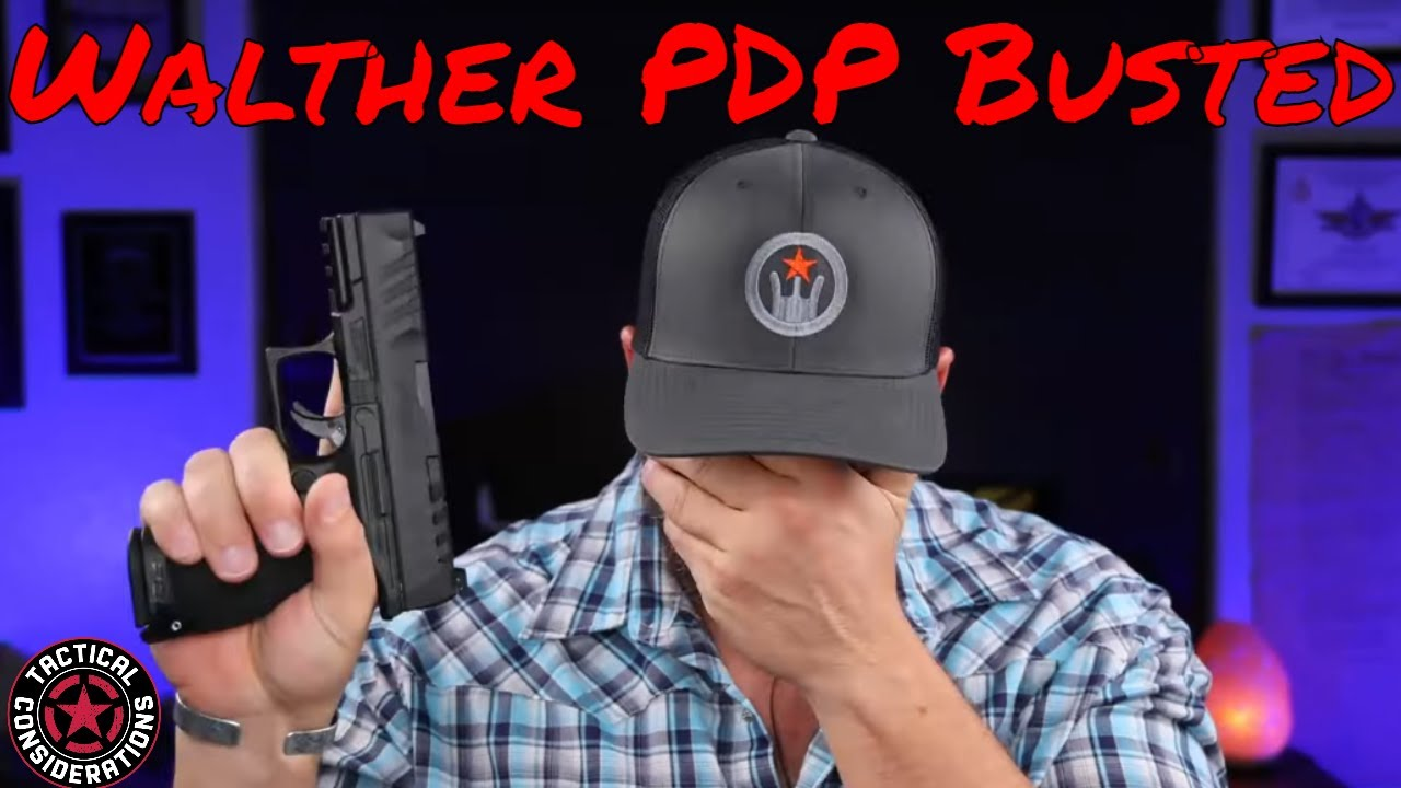 Walther PDP It Broke Before It Left The Shop Catastrophe