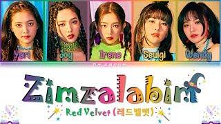 Red Velvet (레드벨벳) - Zimzalabim (짐살라빔) Lyrics Color Coded (Han/Rom/Eng)