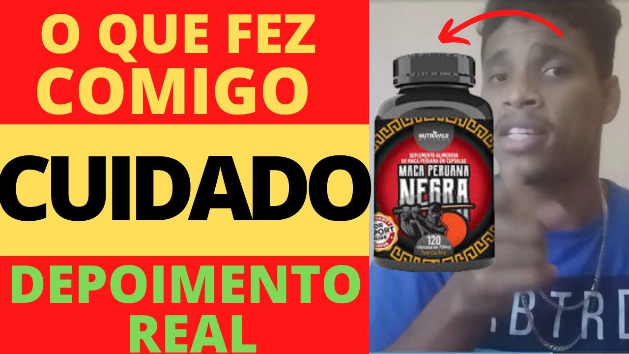 maca peruana negra diferença