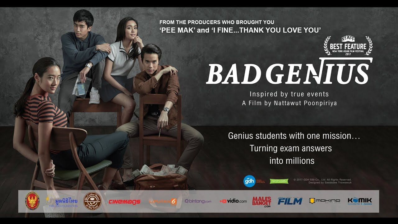 BAD GENIUS Trailer with greetings from Casts and Director - Thai Movie -  Indonesian Subtitle