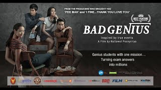 Video BAD GENIUS Trailer with greetings from Casts and Director - Thai Movie - Indonesian Subtitle download MP3, 3GP, MP4, WEBM, AVI, FLV Maret 2018