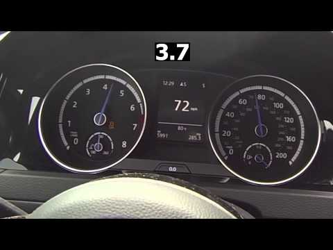 Golf R Launch Control 0-60 W/ Eurodyne Stage 1.5 Tune
