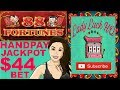 INCREDIBLE LIVE SLOT MACHINE JACKPOT  ON 88 Fortunes| $44 BET | COSMOPOLITAN LAS VEGAS