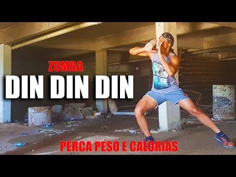 ZUMBA - Din Din Din   Ludmilla   PERCA PESO e CALORIAS   Professor Irtylo Santos