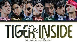 Download SuperM 'Tiger Inside' Lyrics (슈퍼엠 호랑이 가사) (Color Coded Lyrics)